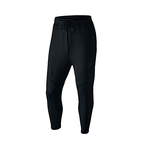 Nike Men's Tech Fleece Cropped Pants Black 727355 010 (Cropped Fleece Pant)