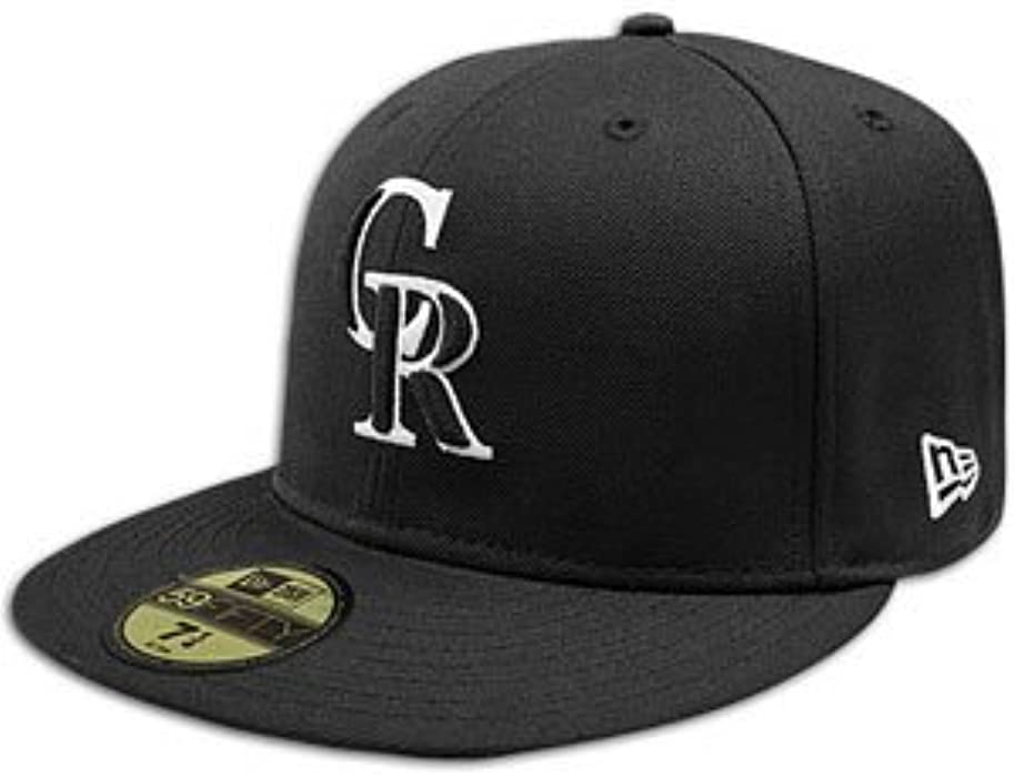 best service 6906e 52115 New Era Colorado Rockies B-Dub 59FIFTY Cap