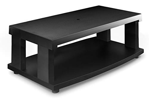 Aleratec 2-Tier LCD | LED TV Stand Entertainment Rack (Tv Rack Stand)