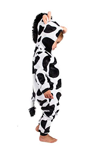 Jammers Baby Infant Toddler Onesie Animal Costume - Cow (6-12 Months) -
