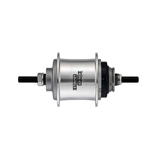 Sturmey Archer RS-RF3 3-sp freewheel hub 36h - silver
