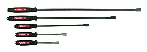 Mayhew 61366 Dominator Pry Bar Set, Curved, 5-Piece (And Bar Bar Sets)