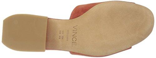 Dress Women's Rachelle Sandal Vince Suede Rust w4U6Utq