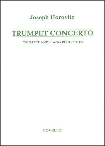 Instruction Books, Cds & Video Trumpet Concerto Trumpet And Piano Trumpet Sheet Music Book Brass Joseph Horovitz