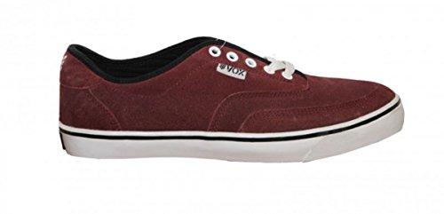 Vox Skateboard Schuhe Blender Bordeaux/ White 1 B Ware, Schuhgrösse:42
