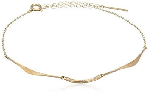Cherry Brown - RB-19 - Bracelet Femme - Or Jaune 417/1000 (10 Ctss) 1.147 Gr - Diamant
