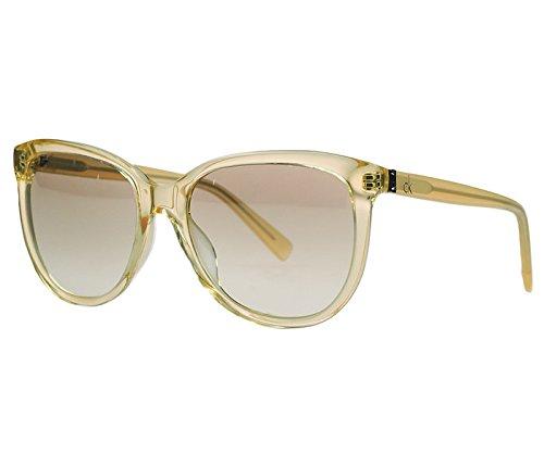 CALVIN KLEIN CK Sunglasses 4185S 250 Pale Yellow - Sunglass Calvin Frames Klein