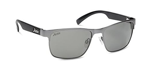 Hobie Scripps Rimless Sunglasses,Satin Gunmetal , Satin Black Temples,56 - Changing Color Sunglasses