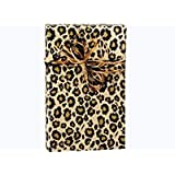 "Safari Animal Print Cheetah Leopard Spots Gift Wrapping Paper Roll 24"" x 15"" - Everyday Gift Wrap Paper"