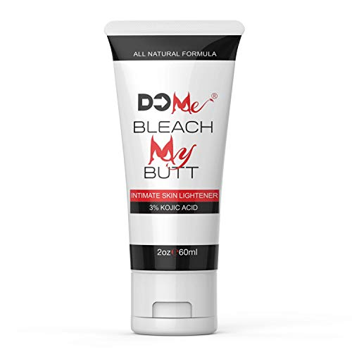 Premium Intimate Skin Lightening Cream - Bleach My Butt - All Natural Formula for Genital Bleaching, Underarm Whitening, Fade Dark Spots - Pink Your Wink - 3% Kojic Acid - No Hydroquinone (2oz)