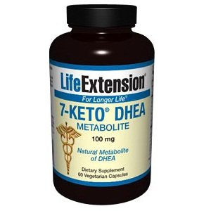 Life Extension 7 Keto Dhea 100 Mg Veg Cap, 60-Count