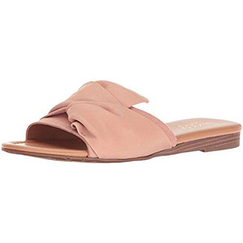 Gracelyn Flat Sandal, Adobe Rose, 8.5 M US (Franco Sarto Slides)