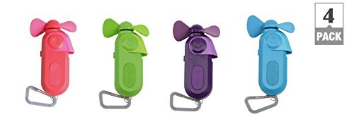 MISTING CARABINER FAN by O2COOL MfrPartNo FMS0003