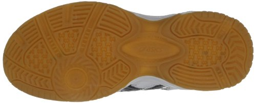 Asics Kids Gel Doha Gs Sports Tennis And Racquet Sports White/Silver/Black Es6GQKIW