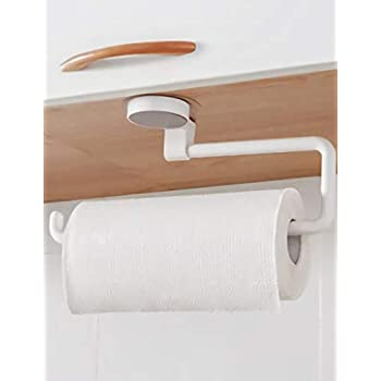 Large Paper Towel Holder Wall Mount Under Cabinet Kitchen Hanging Toilet Paper Towel Holder Gifts For Women & Men
