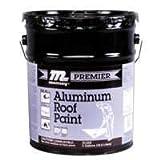 HENRY, WW COMPANY PR500070 Premier Aluminum Roof Paint, 5 Gal 5, 5 gallon