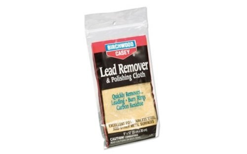 Birchwood Casey 31002 Lead Remover and Polishing Cloth, 6-Inch x ()