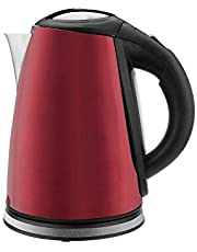 TORNADO Stainless Steel Kettle 1.8 Liter, 1850-2200 Watt In Red Color TKS-2218 R