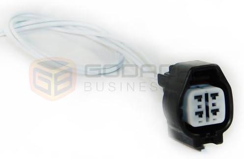 1x Stecker 4-Wege f/ür O2 Sauerstoffsensor 90980-11028
