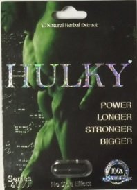 Hulky Natural Male Dietary Herbal Product for Men 24 Packs by Hulky by Hulky (Image #1)