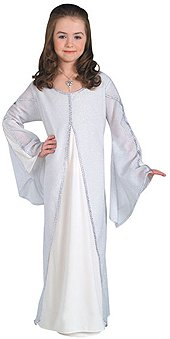 Lord of The Rings Arwen Child Dress Costume Size: Small for $<!--$24.99-->