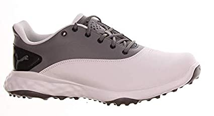 b6d951e071ae Image Unavailable. Image not available for. Color  PUMA New Mens Golf Shoe  Grip Fusion Medium 11.5 White Quiet Shade Black