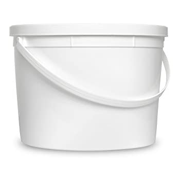 Food Grade 1 Gallon Bucket - 12 Pack With Lids