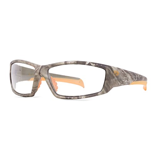 Mossy Oak Trapline Break-UP Infinity Safety Glasses (Shadow Grass Blades with Clear Lens)