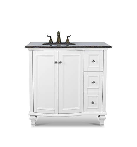 Bathroom Vanity Combo Modern MDF Cabinet with 36
