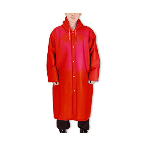 Of Le Imperméable Et Pluie Avec JetablePaquet Weifan 100 Ponchos raincoat Camping Pieces RandonnéeRose set Poncho Imperméables Pour De PortableIdéal La Red wZPX80NnOk