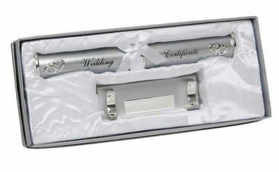 Deluxe Wedding Certificate Holder 170