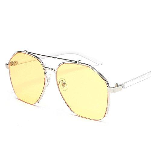 de Viento Gafas Hombres creativos Sol Gafas Unidos Metal y de de Moda Disparar Street Estados Regalos mar Sol de Chao Axiba Gafas H Europa xqnF8wTAC