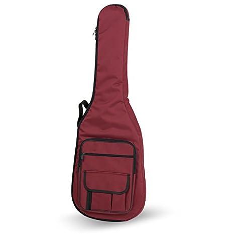 FUNDA GUITARRA ELECTRICA REF. 32B - E ROJO: Amazon.es: Instrumentos ...