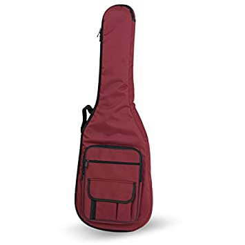 Amazon.com: FUNDA GUITARRA ELECTRICA REF. 32B - E ROJO: Musical Instruments