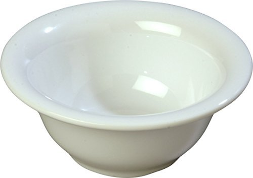 Carlisle 3303802 Sierrus Melamine Rimmed Nappie Bowls,10-oz,White (Set of 24) [並行輸入品] B07PFGYWWK