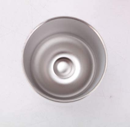 2 vasos de vino sin tallo de 340 ml con tapa de acero inoxidable de doble pared aislada al vacío, taza de viaje (blanco, 340 g)