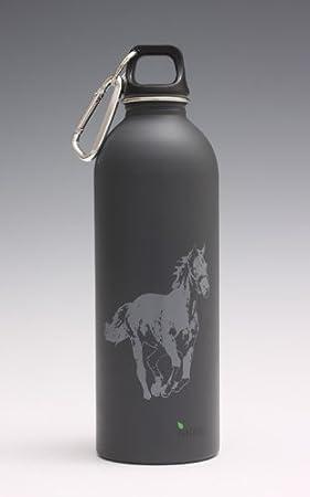 Caballo – 1 litro botella de acero inoxidable EarthLust
