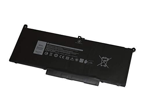 Bateria F3YGT Dell Latitude 7280 Latitude 7480 7.6V 60Whr