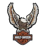 Harley-Davidson Upright Eagle Tin Sign. 99349-09V