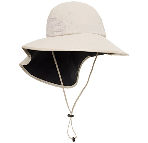 Sunday Afternoons Womens Nylon Adventure Sun Hat (Cream, Medium)