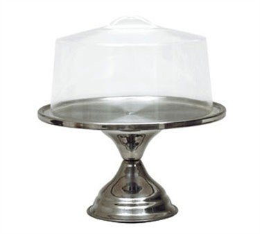 Update International CSC-13 Acrylic Cake Stand Cover, 13 in, Plastic