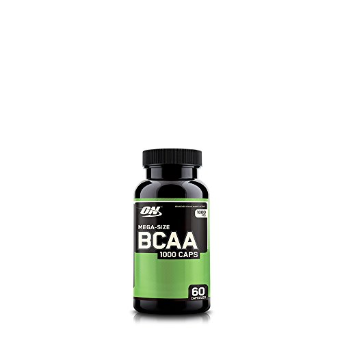 Optimum Nutrition Instantized BCAA Branched Chain Essential Amino Acids Capsules, 1000mg, 60 Count