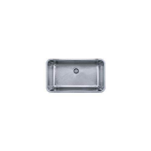 Franke GDX11031 Grande 17-Inch x 31-Inch Single Bowl Undermount Kitchen Sink by Franke (Grande Kitchen)