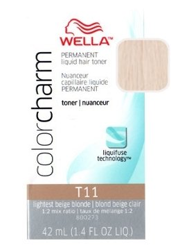 Wella Color Charm Toner - #T11 - Royal Blonde 42 ml (Pack of 6)