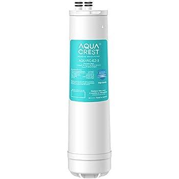 AQUACREST RC-EZ-3 Advanced Under Sink Water Filter, Compatible with all Culligan EZ Change Water Filter Systems, including RC-EZ-3, IC-EZ-3, US-EZ-3, RV-EZ-3, RC-EZ-1, RC-EZ-4, 500 Gallons