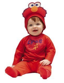 Baby Elmo Costume Size 3-12 Months for $<!--$6.01-->