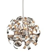 Artcraft Lighting Bel Air Pendant, Chrome - Artcraft Lighting