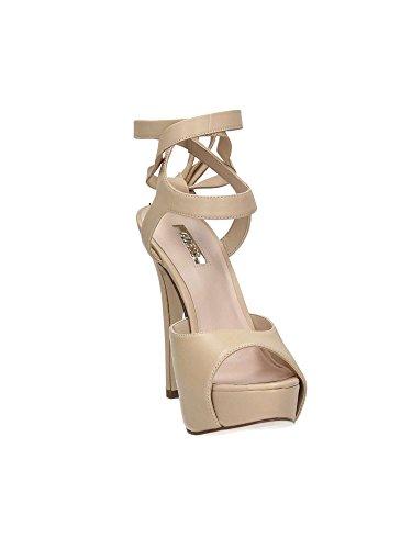 Guess Lea07 Womens UK Size Beige Sandals 7 Flkas1 trwqCr