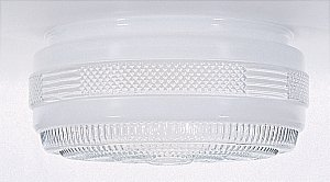 (6-Inch Drum Shade Replacement Glass Shade - 5-7/8-Inch Fitter Opening )