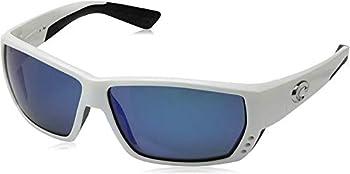 Costa Del Mar Tuna Alley Large Fit Blue Mirror Sunglasses